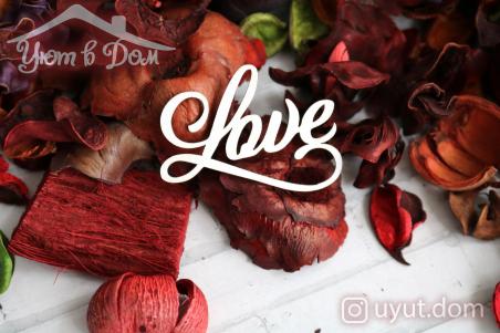 """Чипборд """"Love"""" №2"""