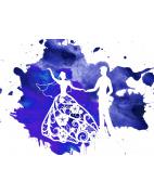 Свадьба в синем цвете