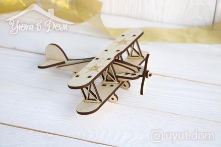 Деревянный самолет 2...