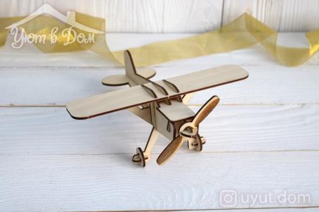 Деревянный самолет...